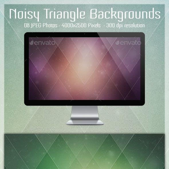 Noisy Triangle Backgrounds