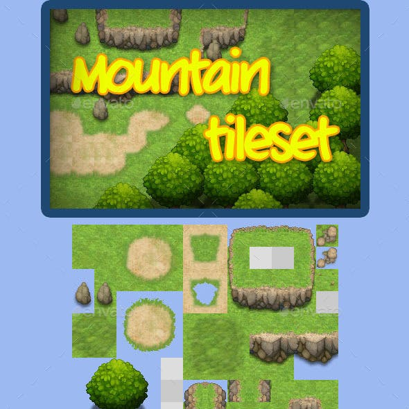 RPG Mountain Tileset