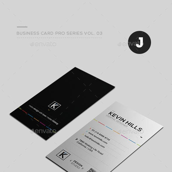 Business Card Pro Series Vol. 03