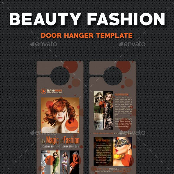 Beauty Fashion Door Hanger V4