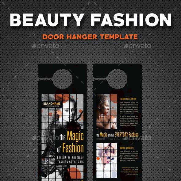 Beauty Fashion Door Hanger V5
