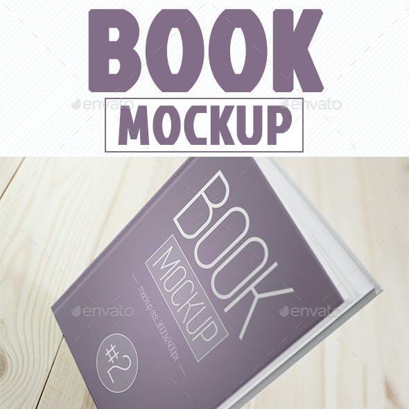 Book Cover Mockup vol. 2