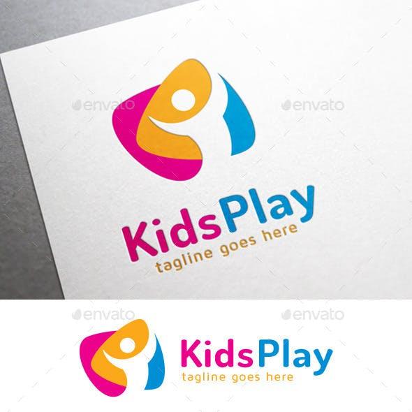 Kids Play Happy Logo