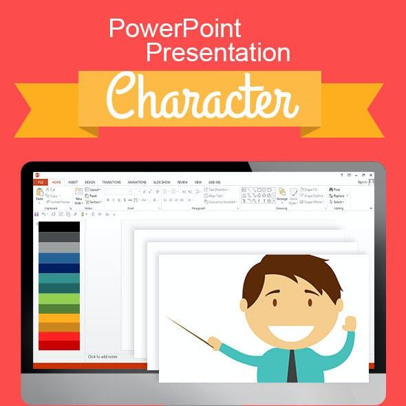 Vector Character PowerPoint Presentation