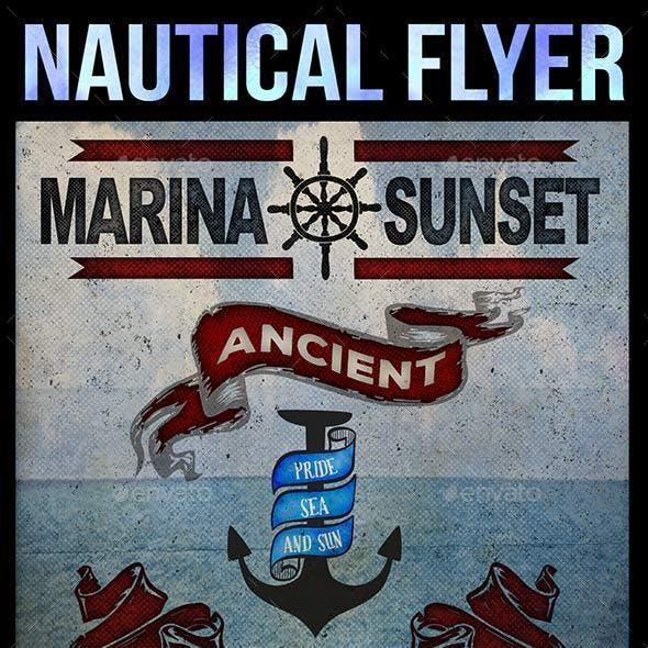 Nautical Flyer / Card