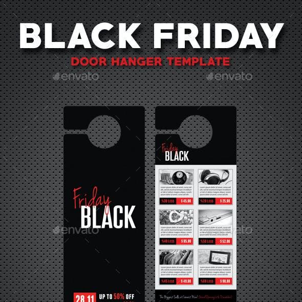 Black Friday Door Hanger V4