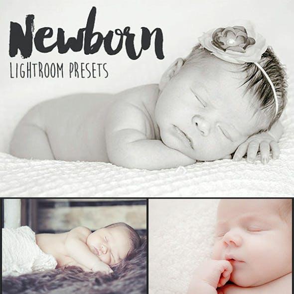20 Newborn Lightroom Presets