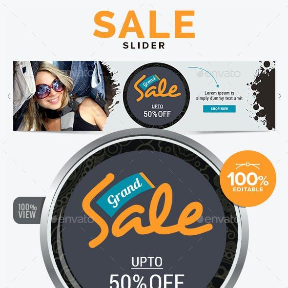Sale Slider