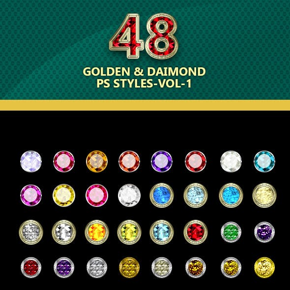 50-Golden and Diamond PS styles-vol-2