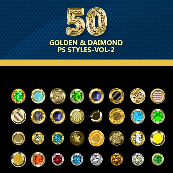 50-Golden and Diamond PS styles-vol-3