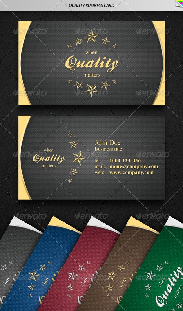Quality Business Card - Retro/Vintage Business Cards