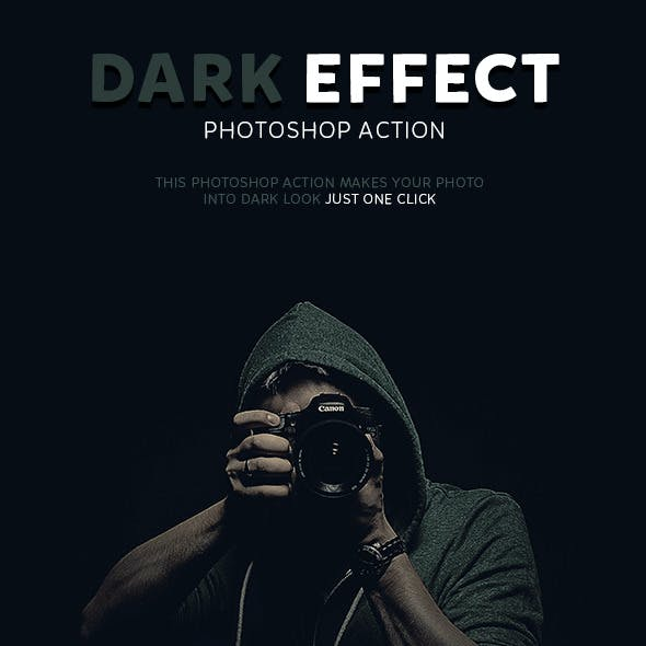 Dark Effect Photoshop Action