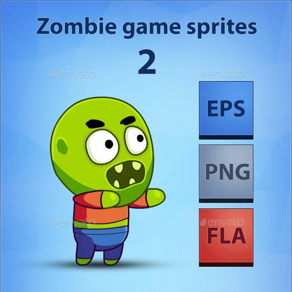 Zombie - Game Sprites 2