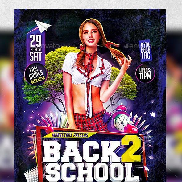 Flyer Back 2 School Konnekt