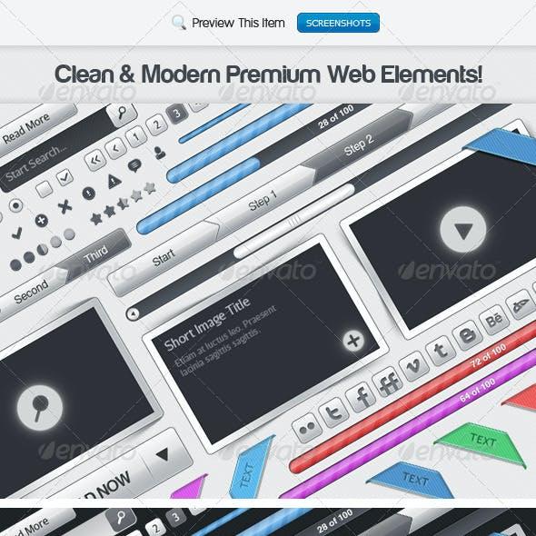 Premium PSD Web Elements
