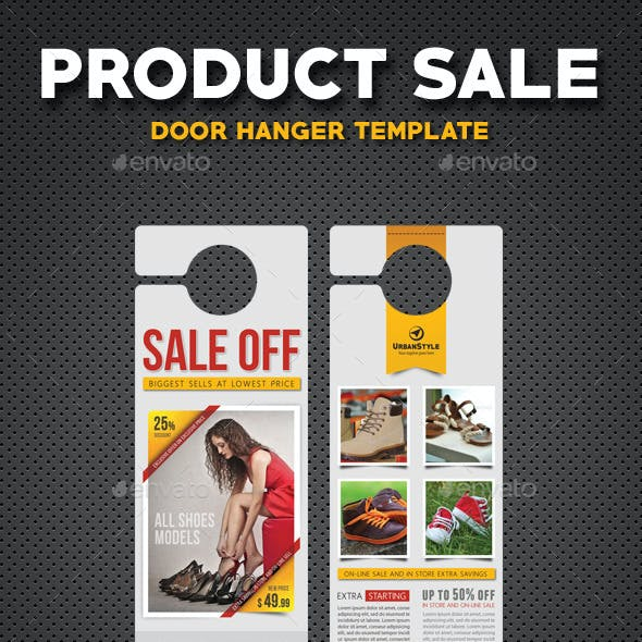 Product Sale Door Hanger V1