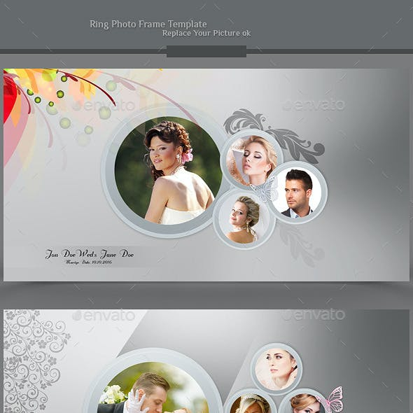 Ring Photo Frame Template v01
