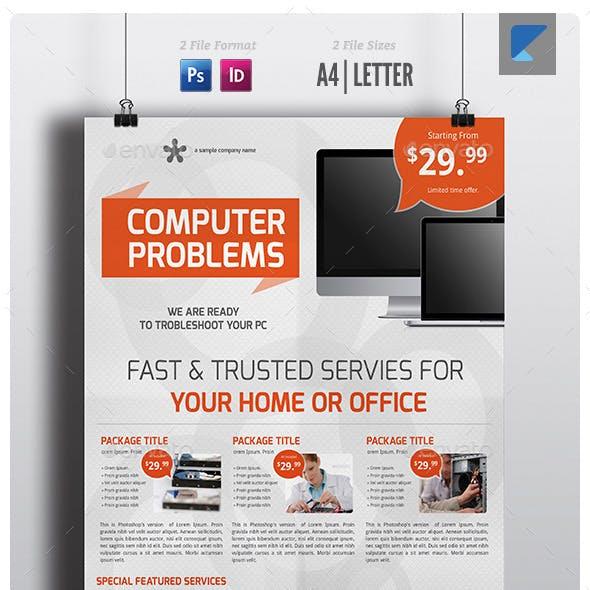 Computer Service Flyer V5