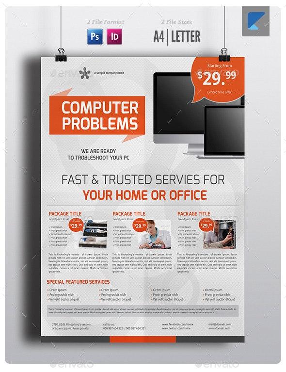 Computer Service Flyer V5 - Commerce Flyers