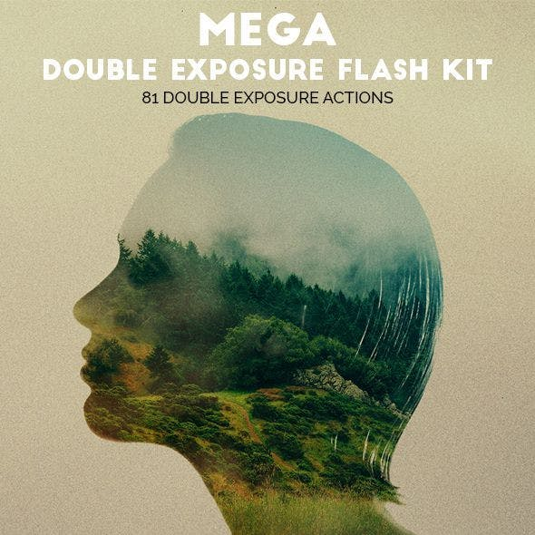 Mega Double Exposure Flash Kit