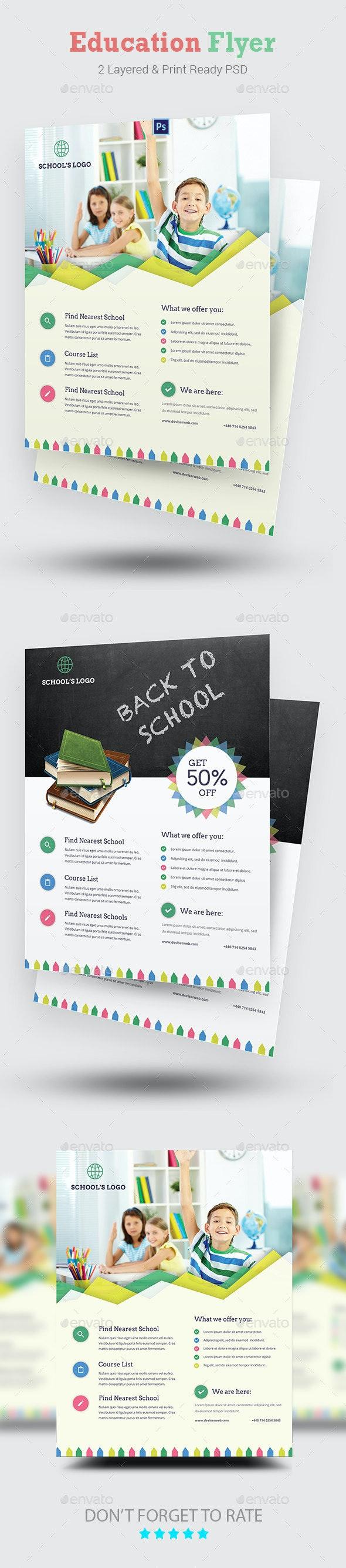 Education Flyer - Corporate Flyers