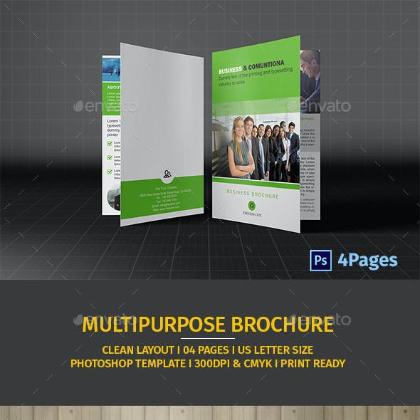 Bifold Business Brochure Vol05