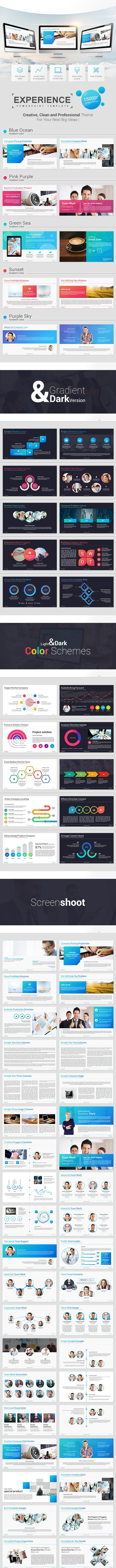 Experience Powerpoint Template - Business PowerPoint Templates