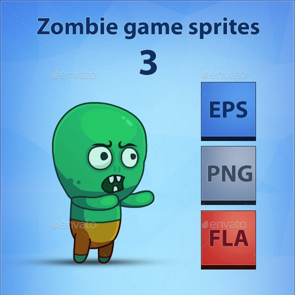 Zombie - Game Sprites 3