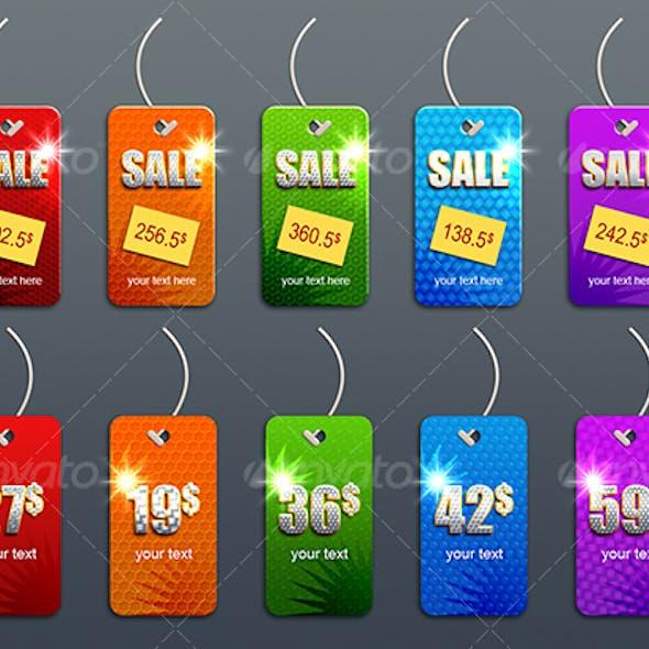 priceless sales tags