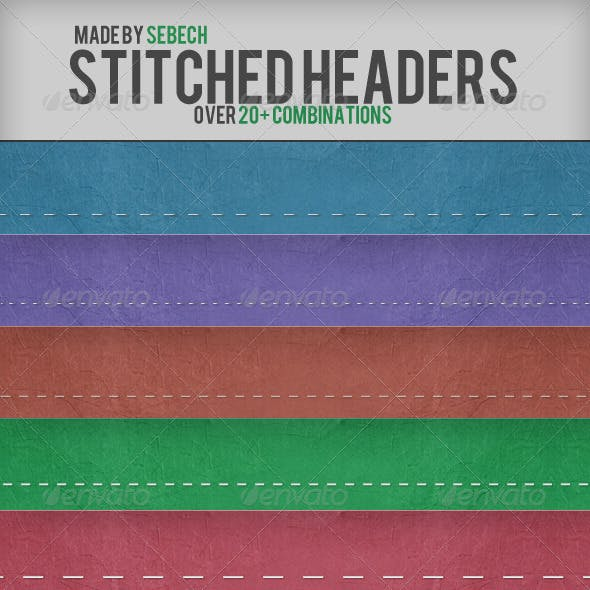 Stitched Headers