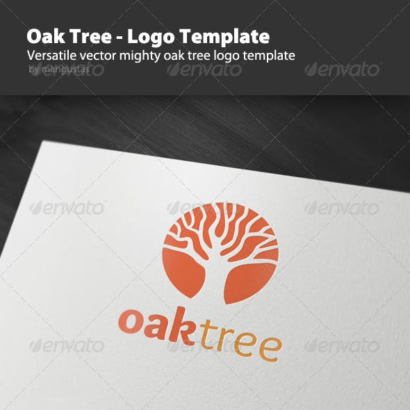 Oak Tree - Logo Template