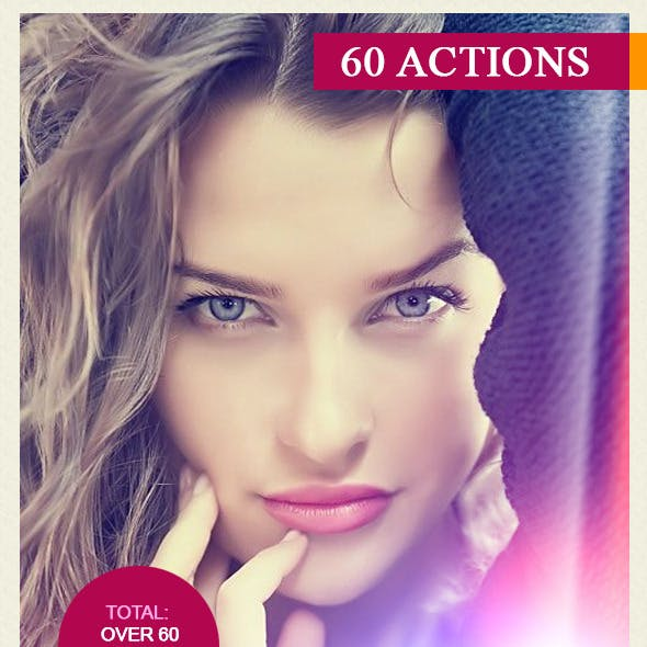 60 Photoshop Actions Bundle