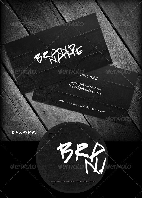 Crypto Business Card - Creative Business Cards