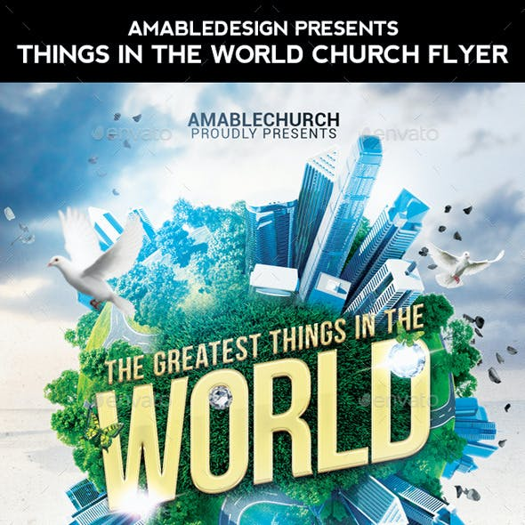 Greatest things in the World Church Flyer