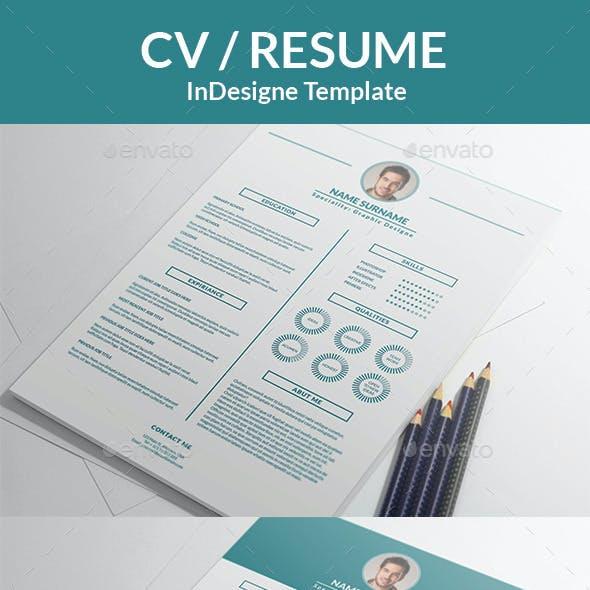 Minimalistic CV/Resume Template