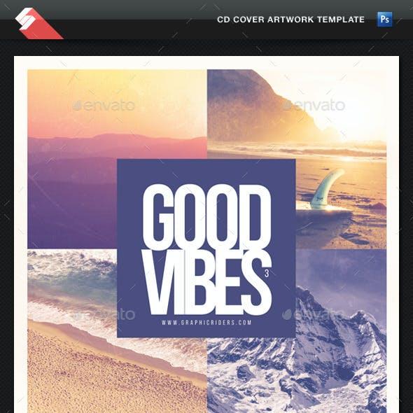 Good Vibes vol.3 - CD Cover Artwork Template