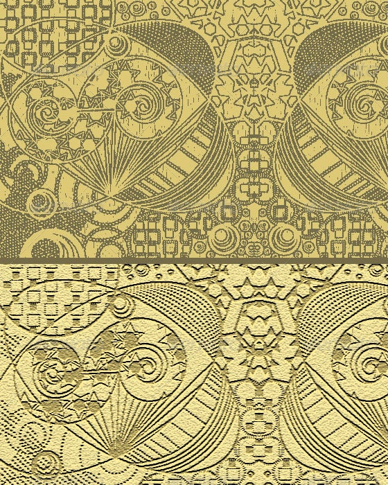 Brown Ornamental Pattern - Patterns Backgrounds