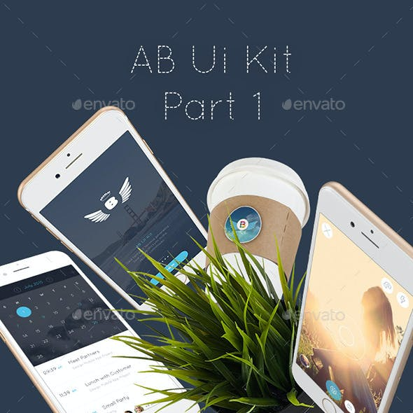 AB1 Mobile UI Kit