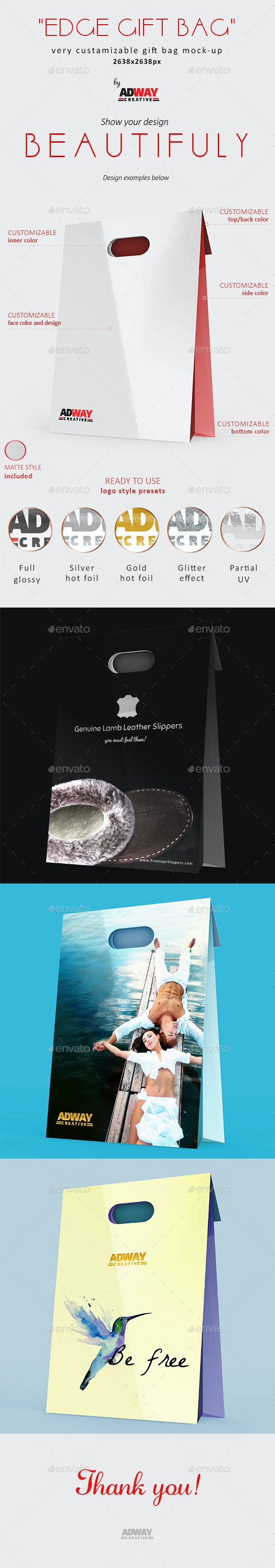 Luxury Shopping Bag Mock up vol 2 - Miscellaneous Print