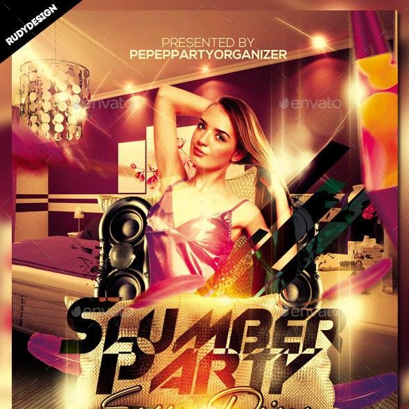 Slumber Party Flyer