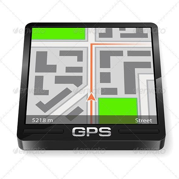 GPS Navigator - Man-made Objects Objects