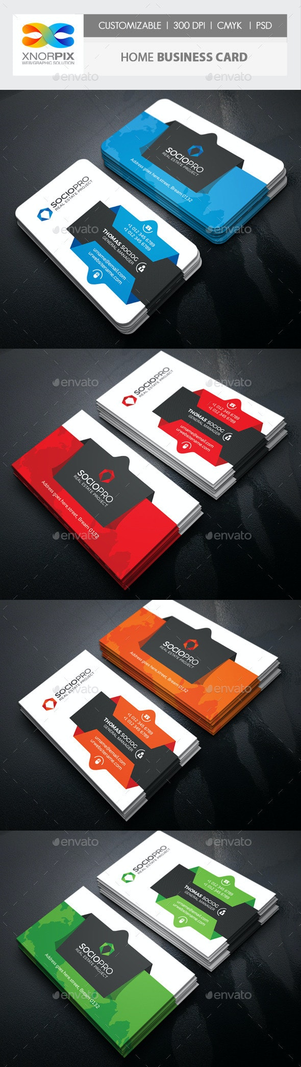 Home Business Card - Corporate Business Cards