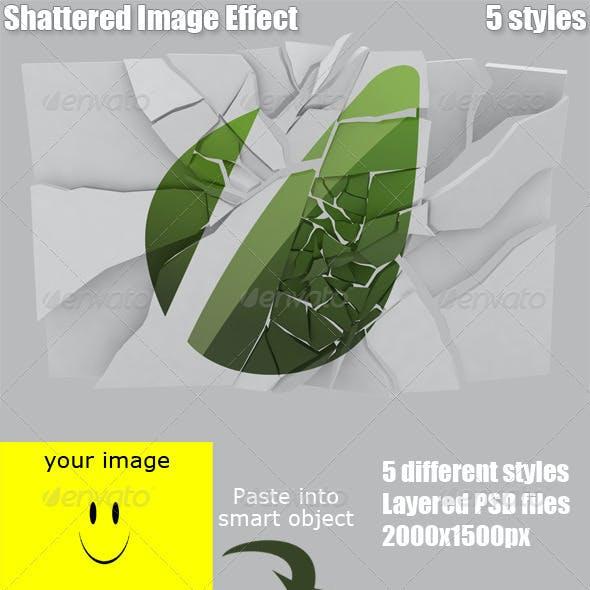 Shattered Image Effect