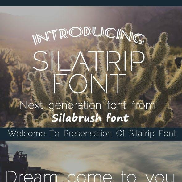 Silatrip Font
