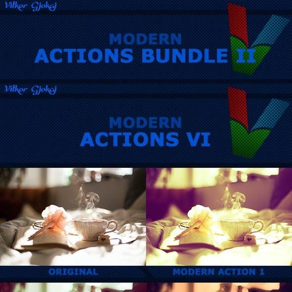 200 Modern Photoshop Actions Bundle II