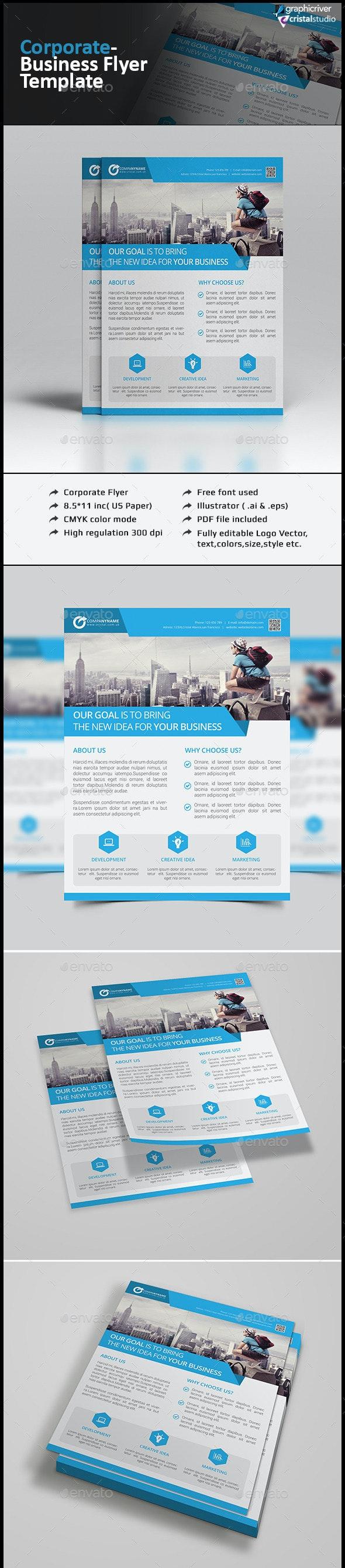 Corporate Flyer-Multipurpose - Corporate Flyers