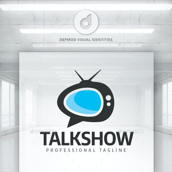 Masculine, Bold, Internet Logo Design for The Power Play ... |Talk Show Logo