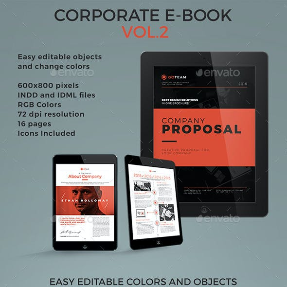 Corporate E-book Template Vol.2