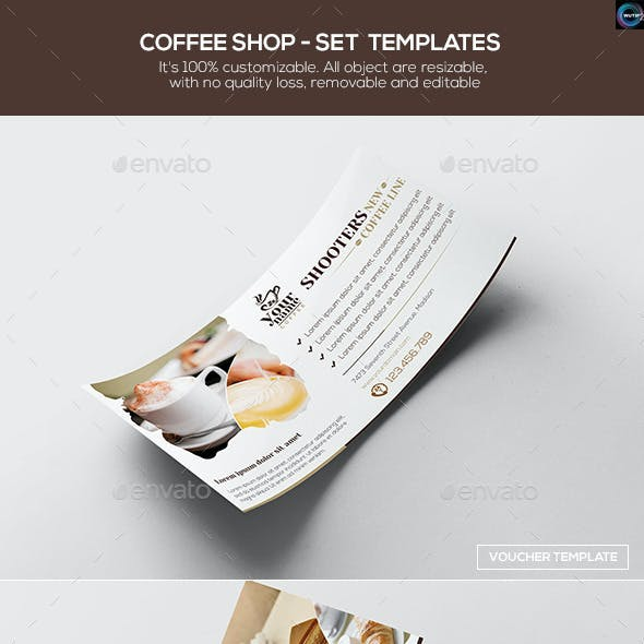 Coffee Shop - Set Templates