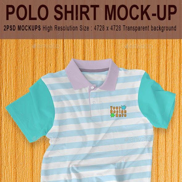 Polo Shirt Mock-up